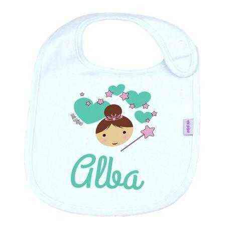 babero personalizado bebe