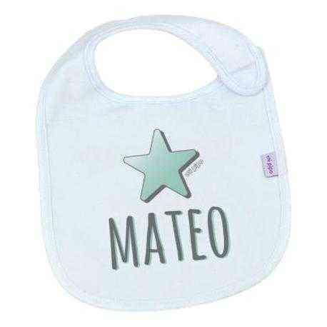 babero personalizado bebé