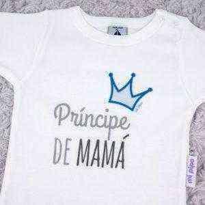 body principe de mama corona azul