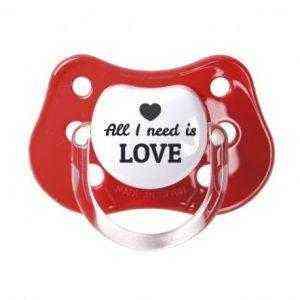 chupete love rojo