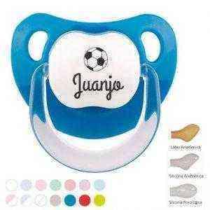 chupete balon de futbol personalizado