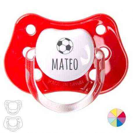 Chupete personalizado pelota