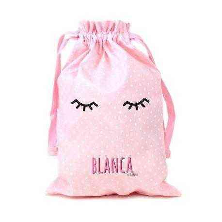 saquito rosa personalizado bebé