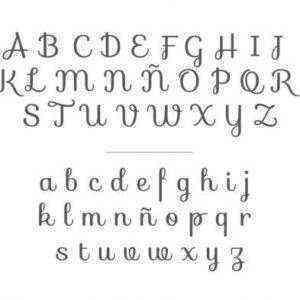 tipografía bordado original