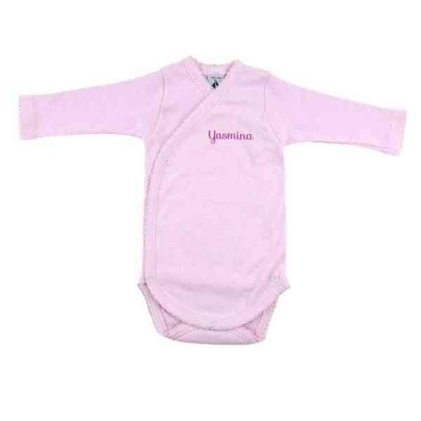 body clasico rosa personalizado