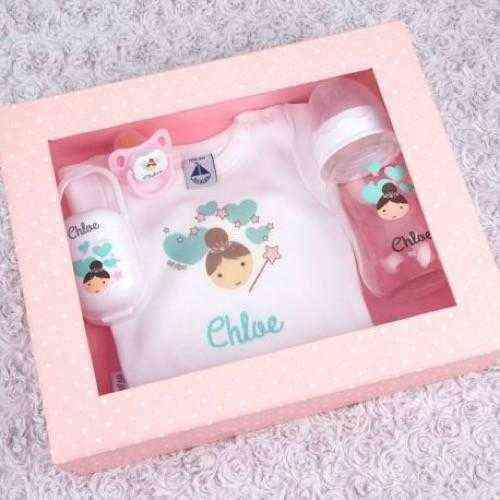 caja regalo personalizada hada