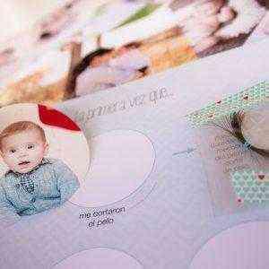 Libro Primer año del bebé rellenar