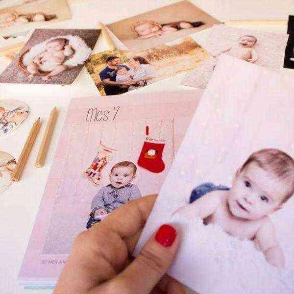 Libro del Primer año del bebé fotos