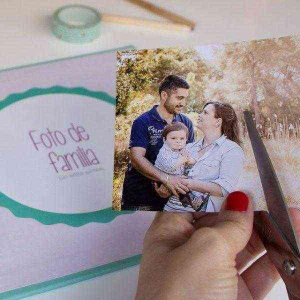 Libro Primer año del bebé familia