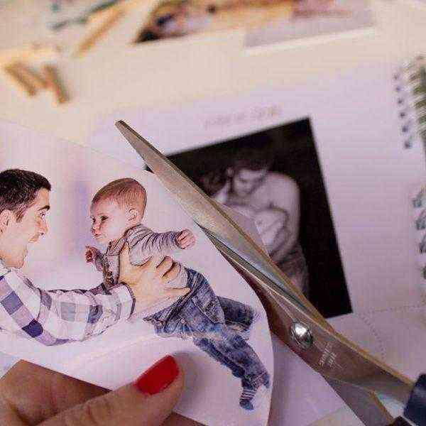 Libro Primer año del bebé recortar