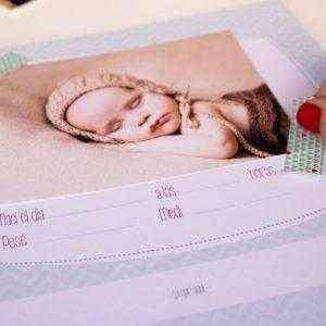 Libro del Primer año del bebé escribir