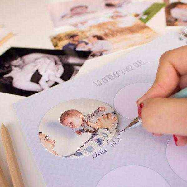 Libro del Primer año del bebé cuaderno