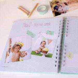 Libro Primer año del bebé diario