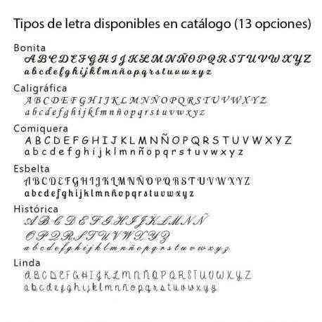 letras mantas 2