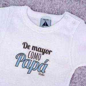 body de mayor como papa