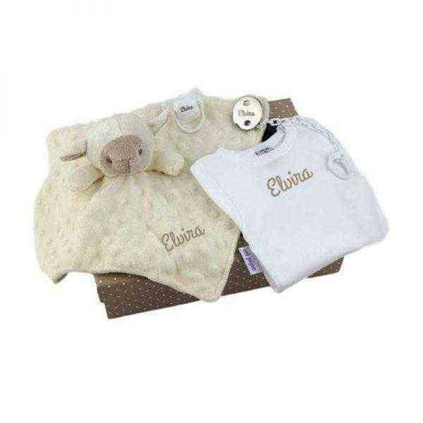 cajita regalo personalizada bebes