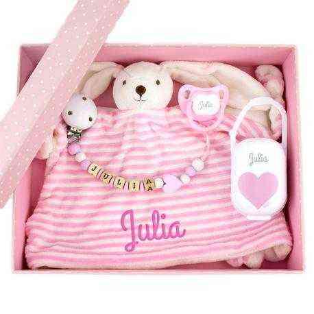 cajita regalo bebe personalilzada