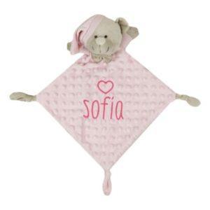 muñeco manta personalizado