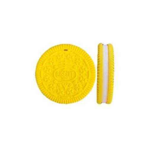 mordedor galleta amarillo