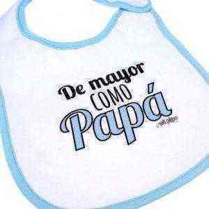 babero de mayor como papa
