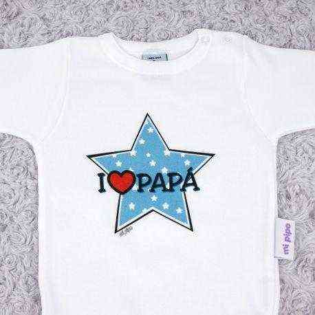 body i love papa azul