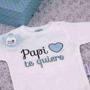 regalo personalizado azul papi te quiero