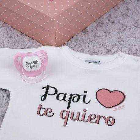 regalo personalizado rosa papi te quiero