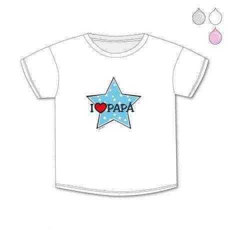 camiseta original i love papa quiero