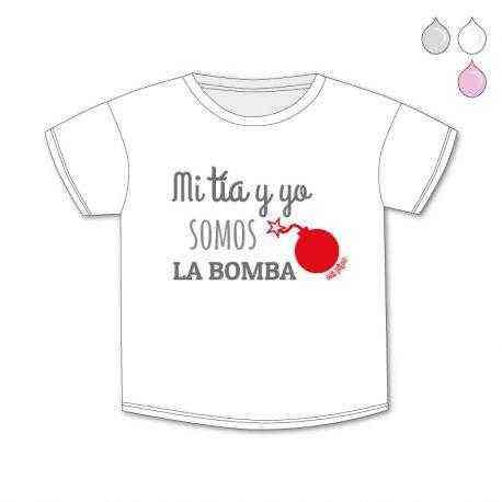 camiseta tia y yo la bomba