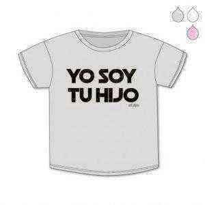 camiseta bebe yo soy tu hijo