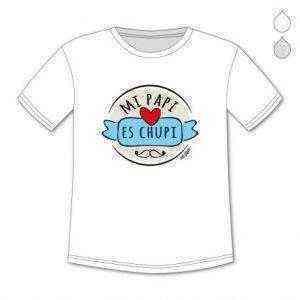 Camisetas 12m - 8A Papá y Bebé - Día del padre