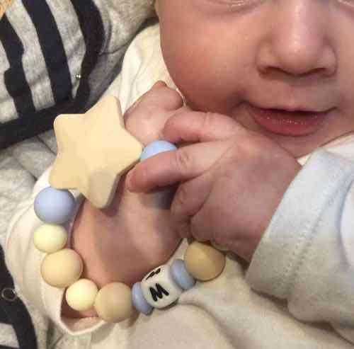 mordedor personalizado bebe