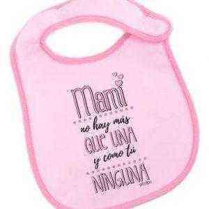 Baberos día de la Madre - Baberos mamá y bebe