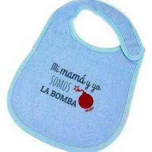 babero la bomba mama y yo