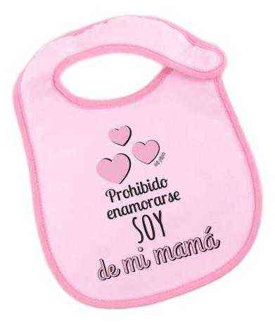 babero bebe mama rosa