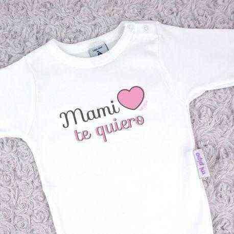 body corazon rosa mama