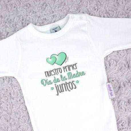 body verde primer dia de la madre