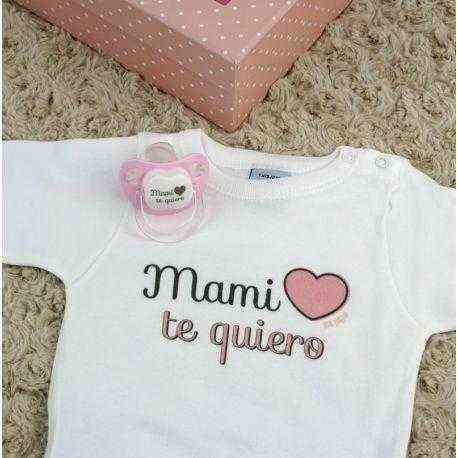 regalo mami te quiero rosa