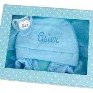 regalo bebe azul