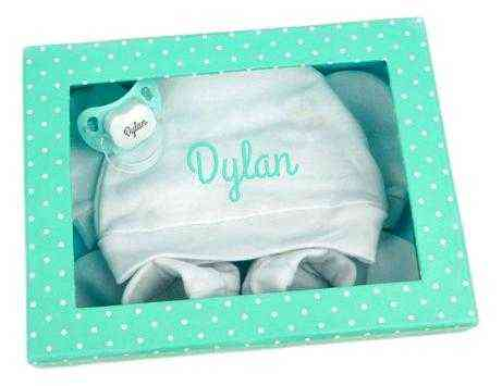 regalo bebe verde