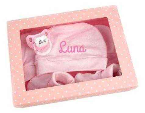 regalo bebe rosa
