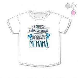 Camisetas 12m - 8A Mamá