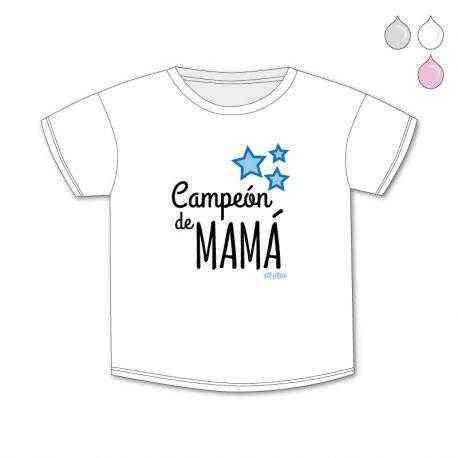 camiseta campeon de mama