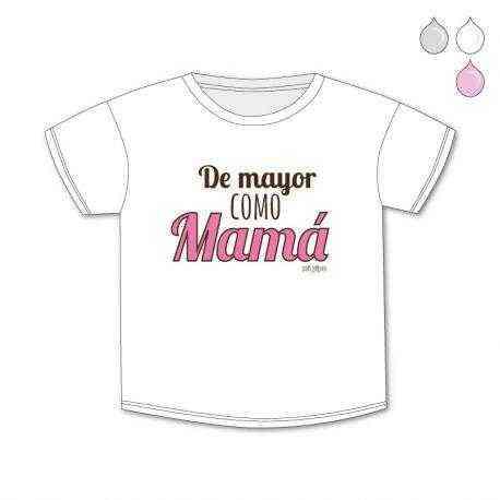 camiseta de mayor como mama