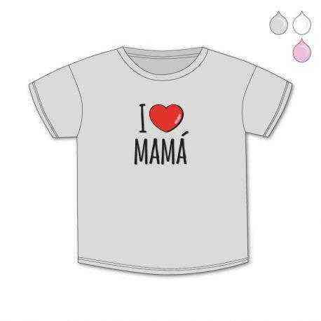 camiseta yo quiero a mama