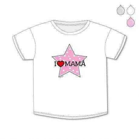 camiseta i love mama