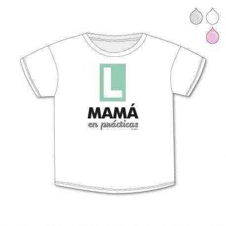 camiseta mama en practicas