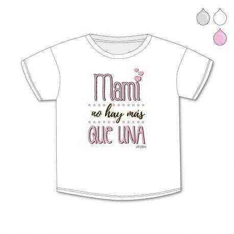 camiseta mami rosa