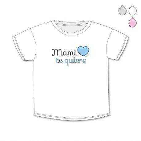 camiseta mami te quiero