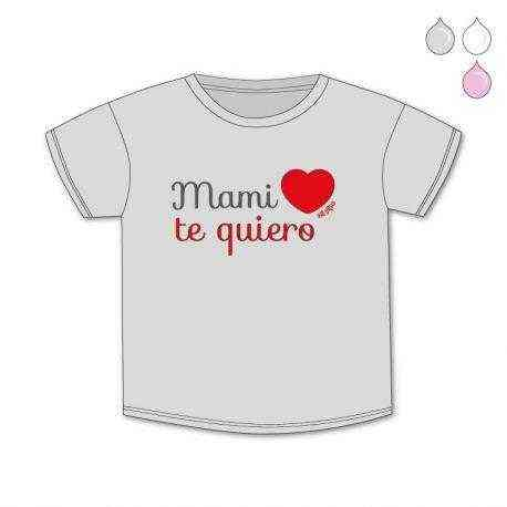 camiseta divertida mami te quiero